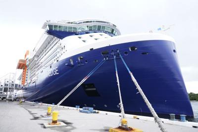 FILE - Virus Outbreak Cruise, cruise ship, Florida