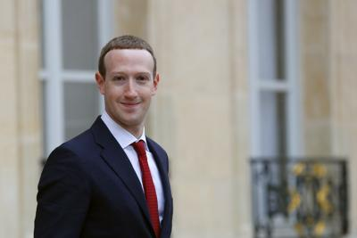 File - Mark Zuckerberg