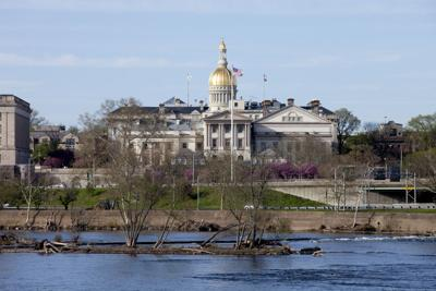 FILE - New Jersey State Capitol
