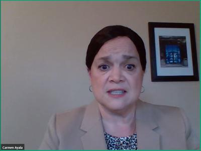FILE - State Superintendent of Education Dr. Carmen Ayala