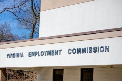 FILE - Virginia unemployment