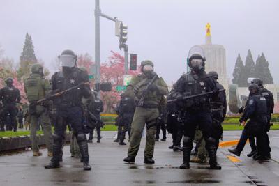 FILE — Salem police line