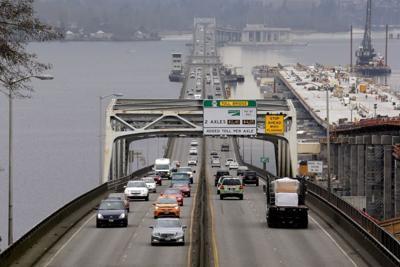 FILE —Seattle bridge traffic