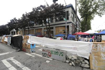 FILE — Seattle police east precinct