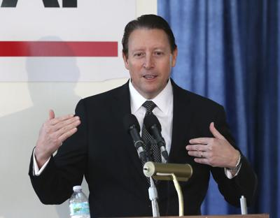 FILE - Florida Senate president Bill Galvano