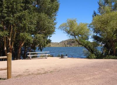 FILE - Curt Gowdy State Park Wyoming
