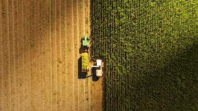 FILE - Agriculture, farm, farmer