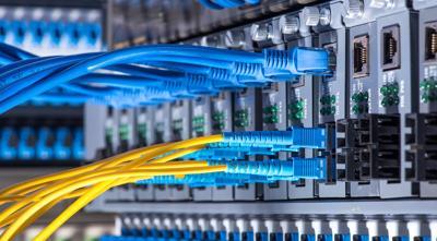 FILE - Broadband internet, ethernet, high-speed internet