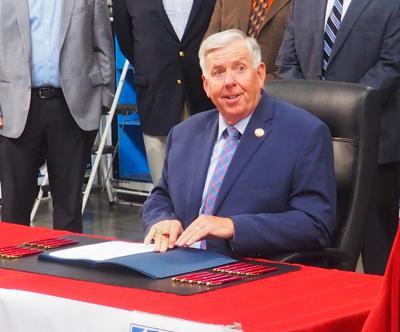 FILE - Missouri Governor Mike Parson