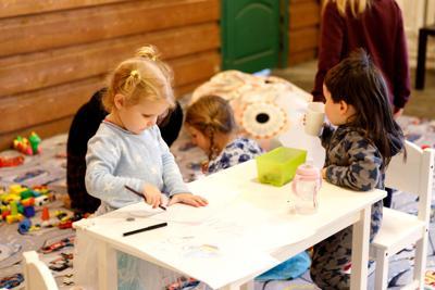 FILE - Early childhood education preschool