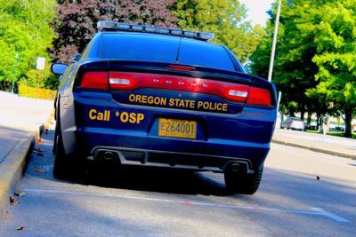 FILE - Oregon State Police Car