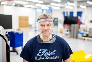 Ford teams with 3M, GE, to ramp up protective gear production