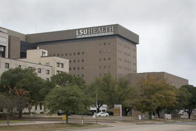 FILE - LSU Shreveport hospital