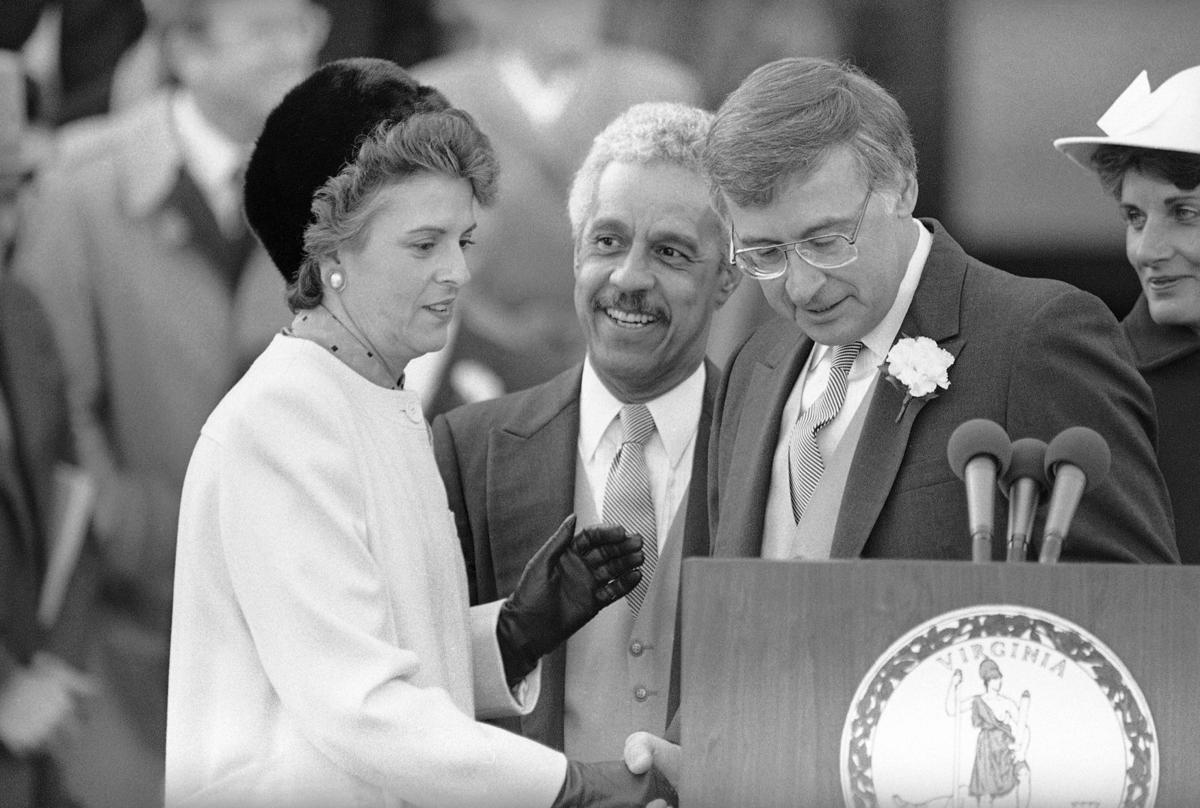 Gerald Baliles, Douglas Wilder, Mary Sue Terry