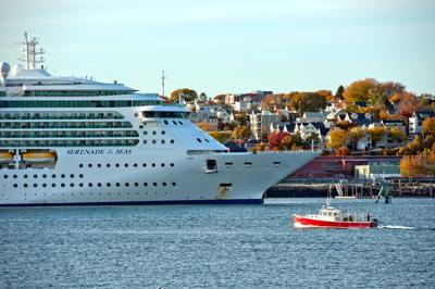FILE - ME Cruise Ship 10-27-2015