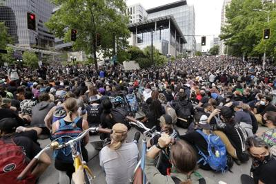 FILE - Seattle BLM Protest
