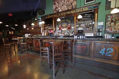 FILE - MA bar, alcohol 6-25-2020