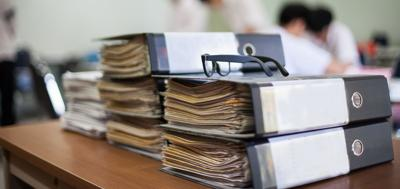 FILE - Open government, freedom of information, FOIA, documents, paperwork