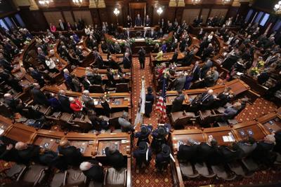FILE - Illinois Senate, 2015