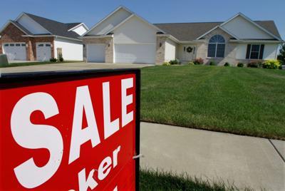 FILE - Illinois home for sale