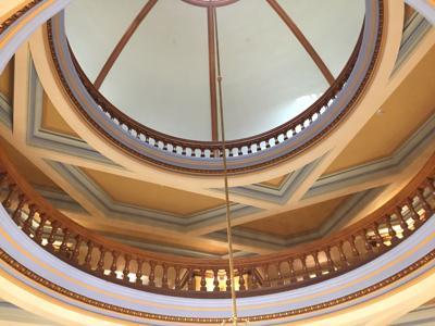 FILE - Arizona State Capitol Rotunda