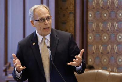 FILE - Illinois Sen. Dave Syverson, 2014