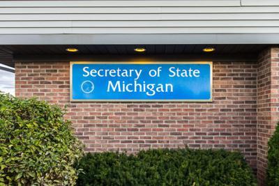 FILE - Michigan Secretary of State