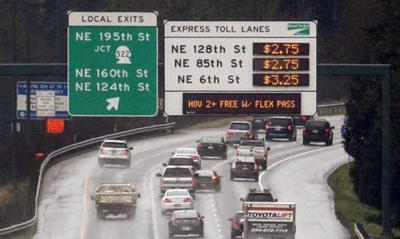 FILE —Washington state highway tolls