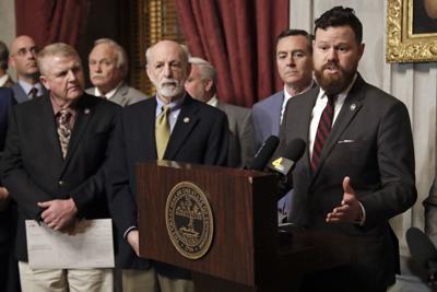 FILE - Tennessee state Rep. Michael Curcio