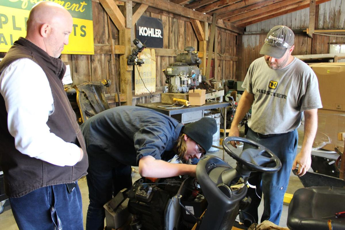 Students earn while they learn at Louisa County High School