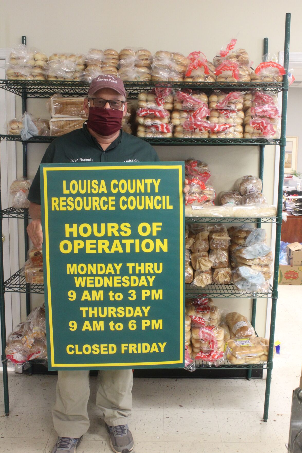 New sites, hours for food distribution to households in need