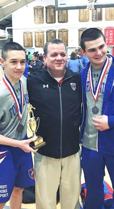 Wrestling coach steps up to serve his state