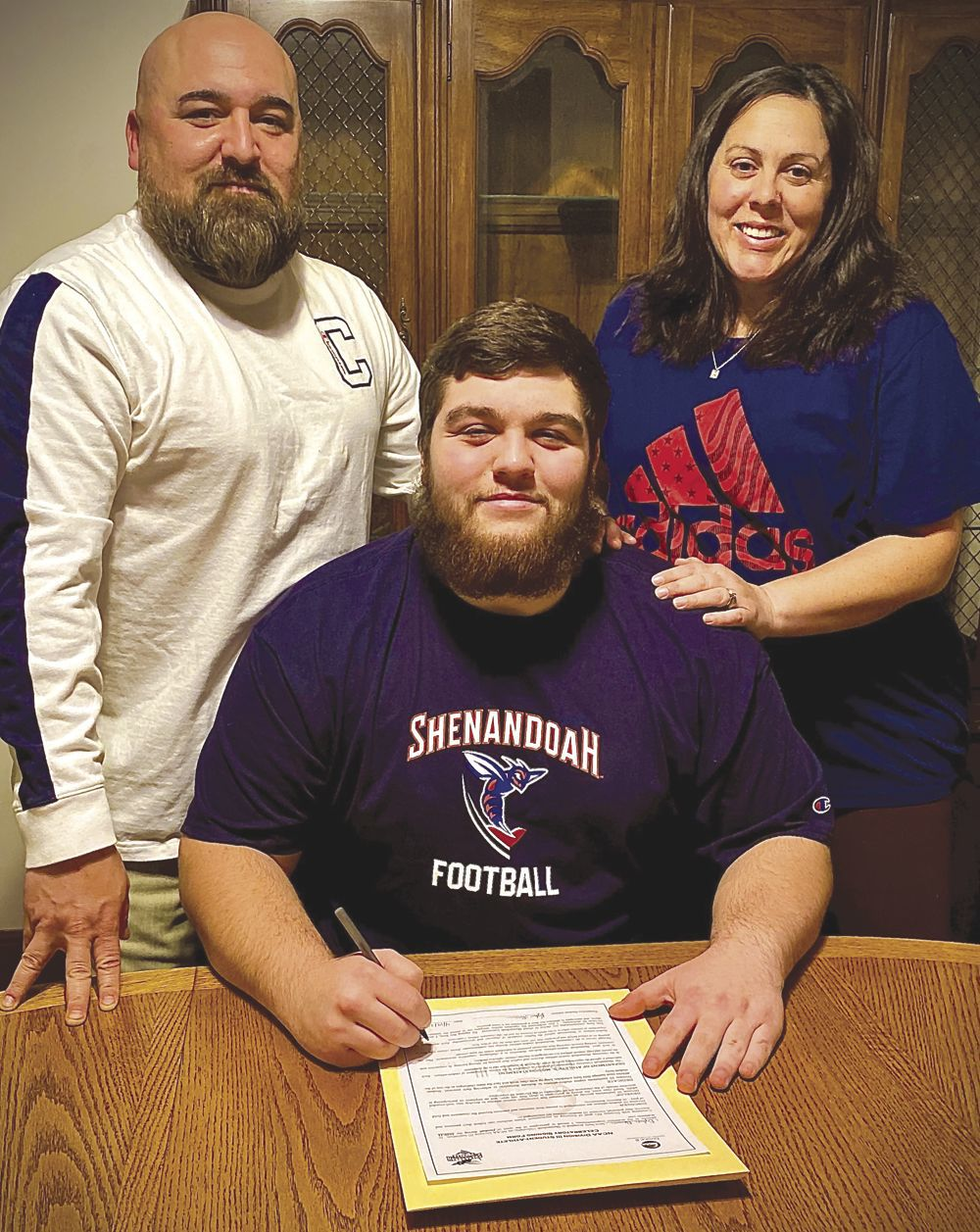 Louisa linemen commit to Shenandoah University
