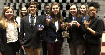 Louisa speech and debate teams move closer to state competition