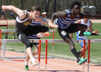 Louisa track teams race at Woodberry Forest