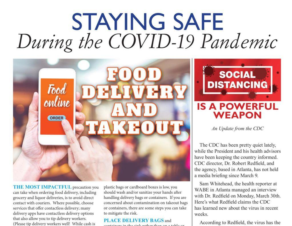 Staying Safe During the COVID-19 Pandemic | Food Delivery & Takeout