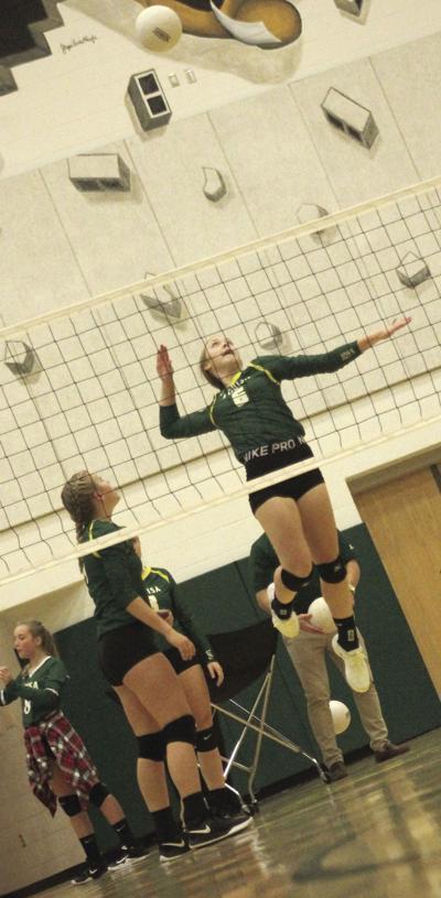 Virtual run for volleyball team