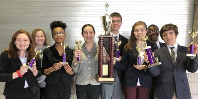 Numerous awards for Louisa speech and debate