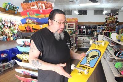 Skate shop finds niche market in Louisa