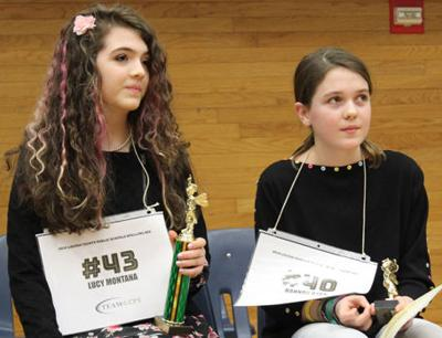 Same story at Louisa County Public Schools Spelling Bee
