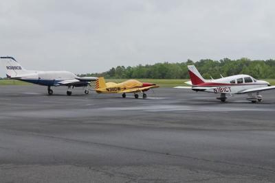 Airport hangar still on drawing board