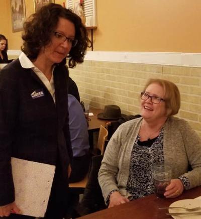 Senate candidate visits Louisa County Democrats