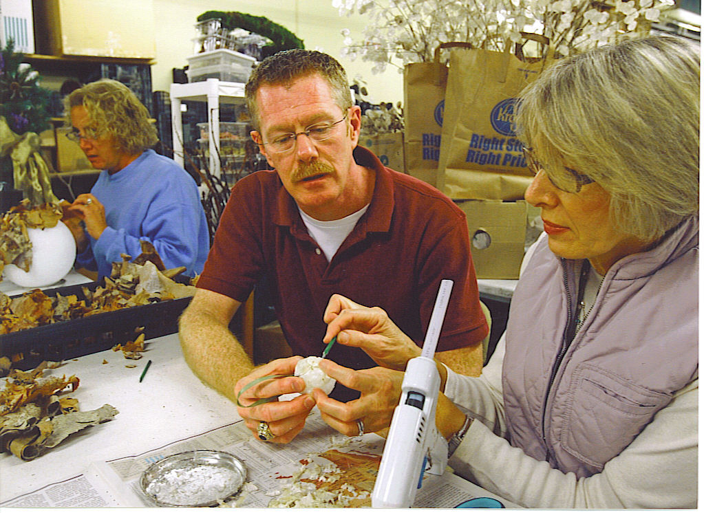 Florist remembers his Louisa County roots