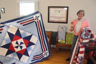 Quilters aim to comfort veterans
