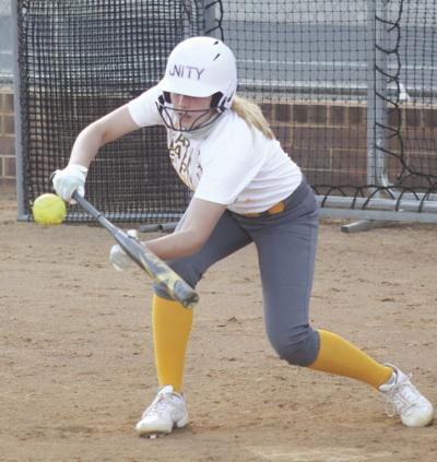 Softball team getting back into the swing of things