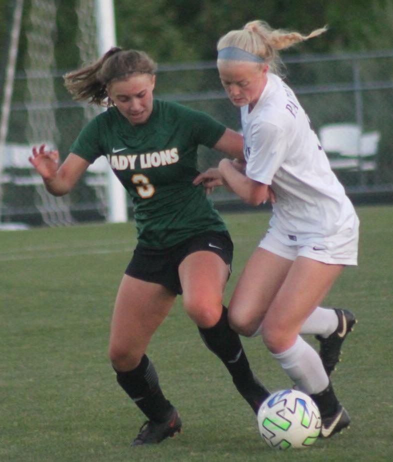 Louisa soccer takes on Albemarle