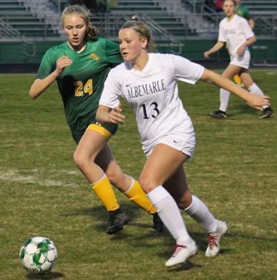 Louisa soccer teams battle Spotsylvania, Albemarle