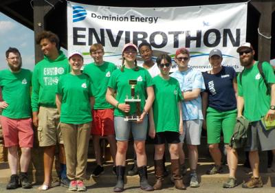 Louisa County High School Envirothon team places first