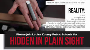 Louisa schools to host Hidden in Plain Sight, a program to help parents identify risky behavior