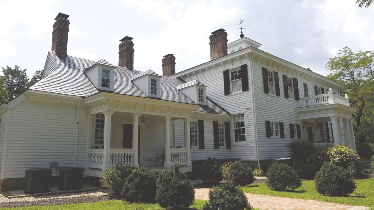 When the first American president stayed in Louisa